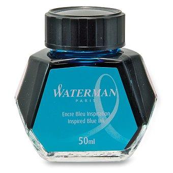 Lahvičkový inkoust světle modrý