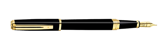 Waterman Exception Slim Black GT